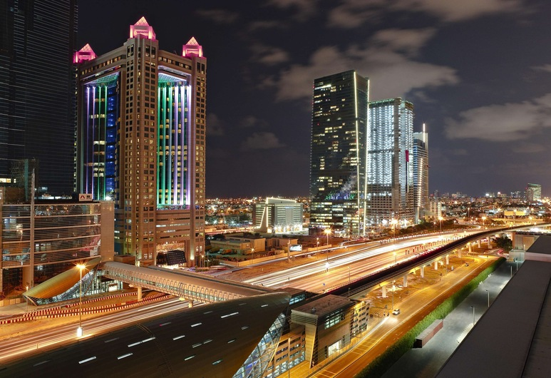 Fairmont Hotel - hvor vi boede i Dubai